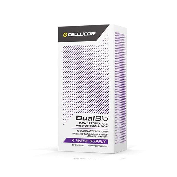 DualBio Probiótico 56Caps - Cellucor
