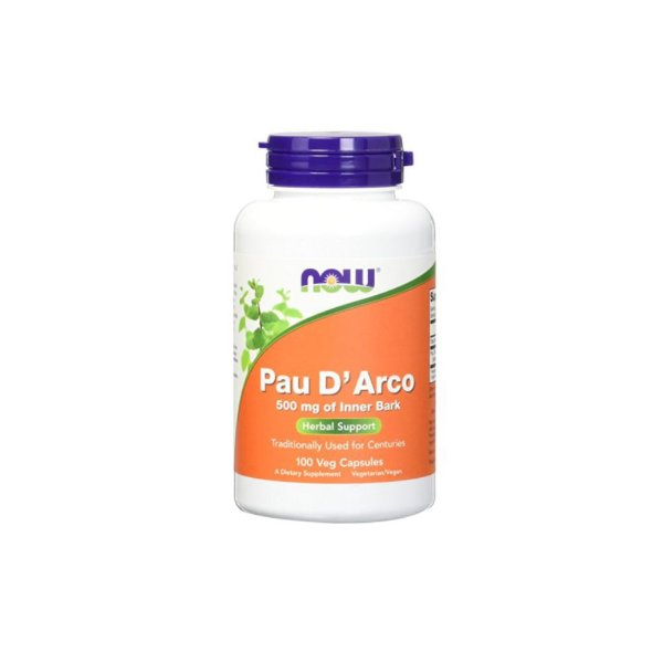 Pau D Arco 500mg 100 Cáps- Now