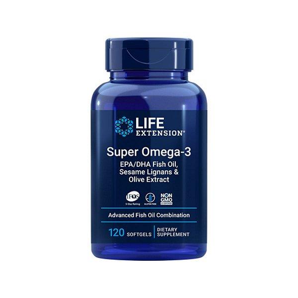Super Omega-3 120 Softgels - Life Extension