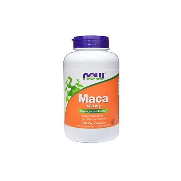Maca 500 mg 250 Caps - Now