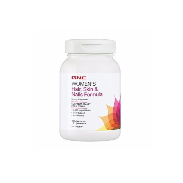 Women's Hair Skin E Nails Formula 120 Caps - Gnc