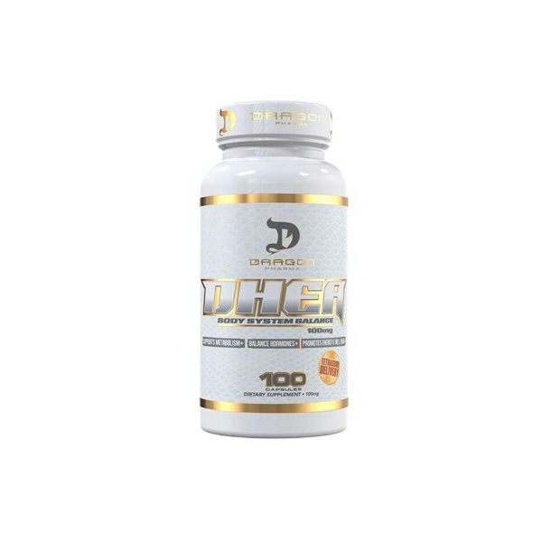 DHEA  100mg 100 Caps - Dragon Pharma