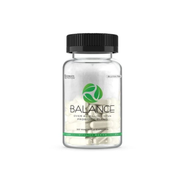 Probiótico Balance 30 Caps - Ultimate Nutrition
