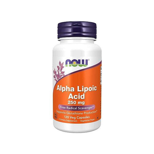 Alpha Lipoic Acid 250 mg 120 Caps - Now Foods