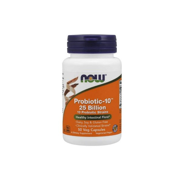 Probiotic - 10 (25 Billion)  50 Caps - Now