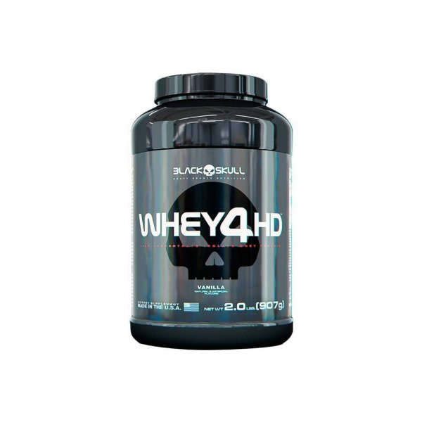 Whey 4HD 907g - Black Skull