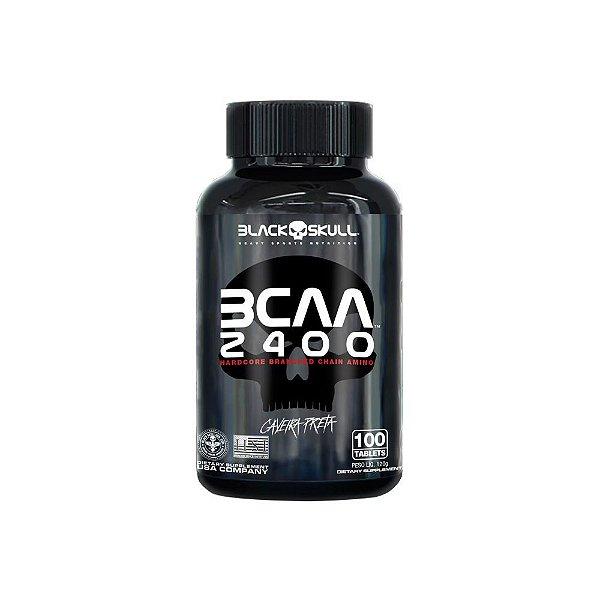 Bcaa 2400 100 Tablets - Black Skul