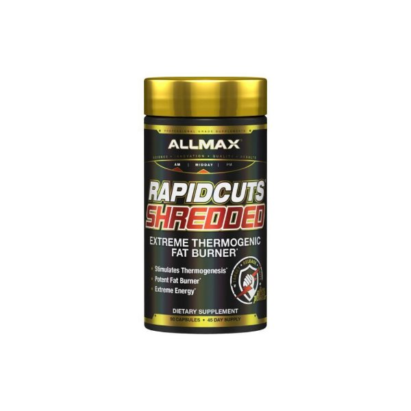 Termogênico Rapidcuts Shredded 90 Caps- Allmax