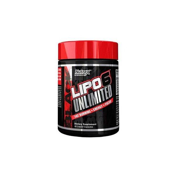 Termogênico Lipo 6 Unlimited 40 Caps - Nutrex