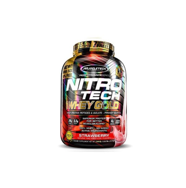 Nitrotech  Whey Gold 5,5 Lbs - Muscletech