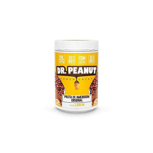 Pasta de Amendoim Original Com Whey 1Kg - Dr. Peanut