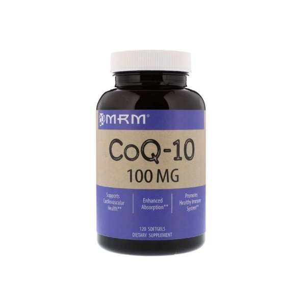 COQ10 100mg 120 Caps  - MRM