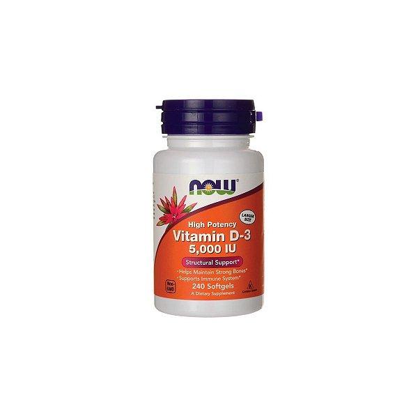 Vitamina D3  5.000ui 240 Softgels - Now