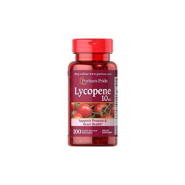 Licopeno (lycopene) 10mg 100 Softgels - Puritan's Pride