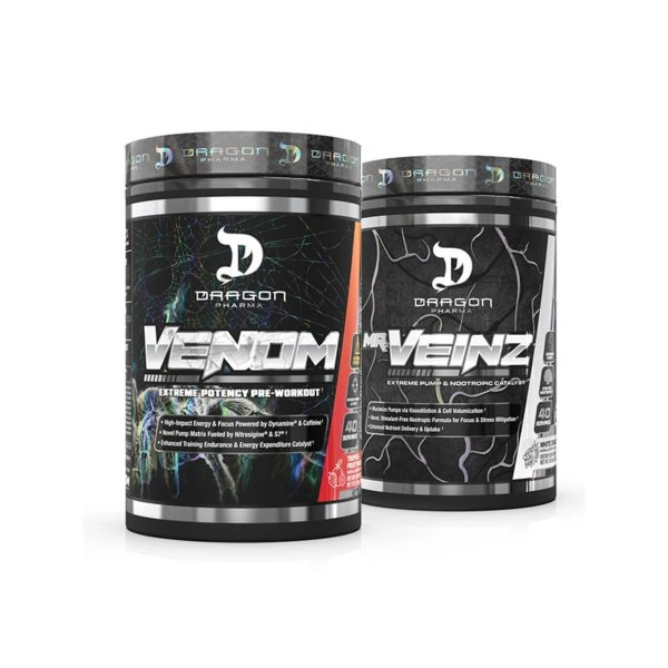 Combo Mr. Veinz Waltermelom + Venom 40 Doses Fruit Punch - Dragon Pharma