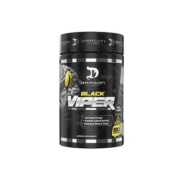 Termogênico Black Viper 90 caps - Dragon Pharma