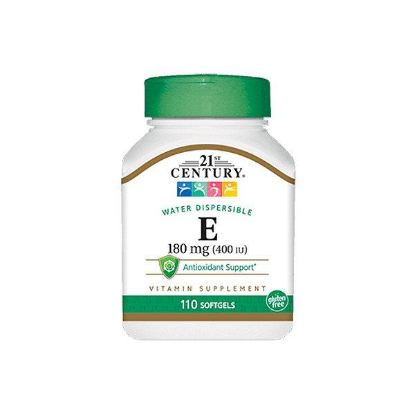 Vitamina E-400 400ui 180mg 110Caps - 21St Century