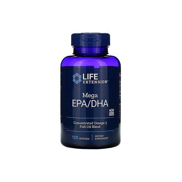 Mega EPA/DHA 120 Caps - Life Extension