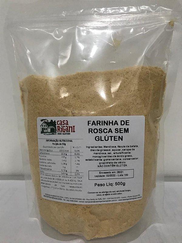 Farinha de Rosca sem Glúten - 500g