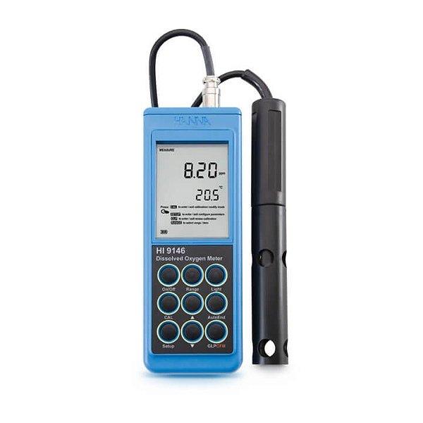 Medidor de Oxigênio Dissolvido para Aquicultura – Cabo de 4M - HI9146-04
