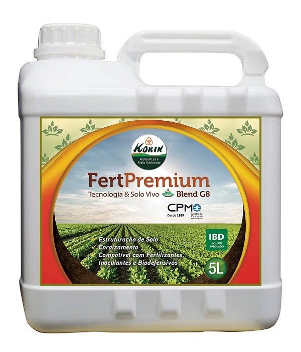 Fert Premium - Korin 5L Condicionador de Solo