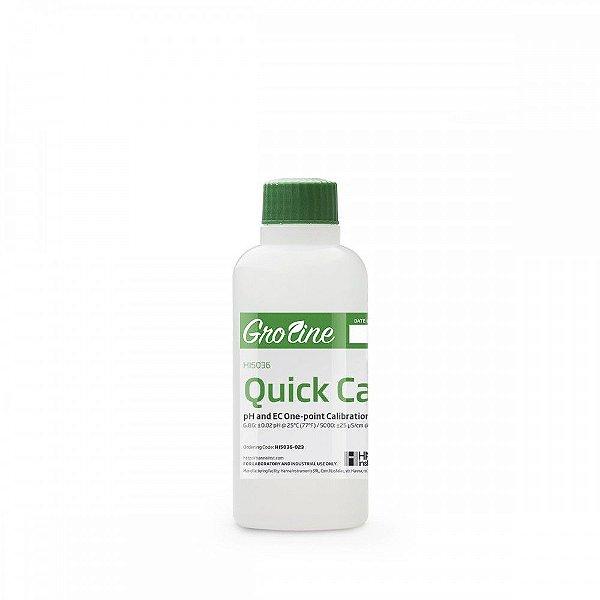 Solução de calibração rápida de pH e EC da linha Groline  HI5036-023