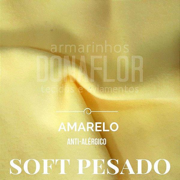 Soft Pesado Amarelo 50x1,60cm