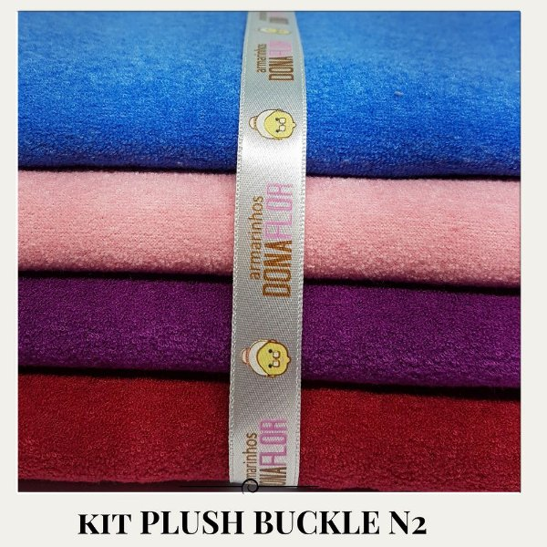 Kit Plush Buckle N2 4tecidos 30x75cm