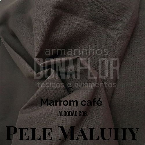 Algodão Marrom Café   50x1,58cm