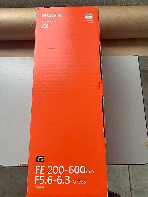 Lente Sony FE 200-600mm F5.6-6.3 G OSS