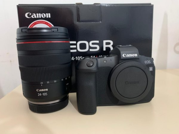 Camera Canon Eos R + Lente 24-105mm