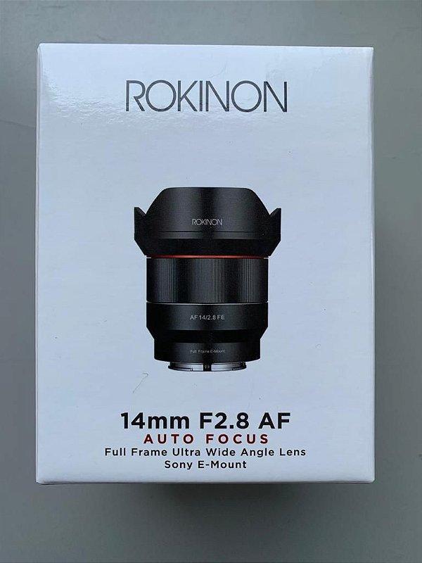Lente Rokinon 10mm f2.8 ultra wide
