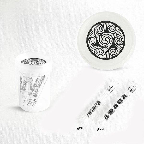 Piteiras de Vidro 0,6 mm ( ANACÃ collab JET LIFE)