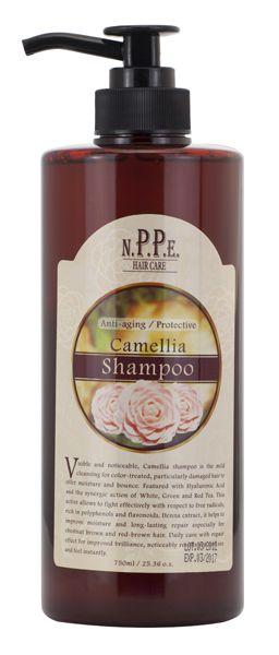 NPPE Camellia Shampoo 750mL