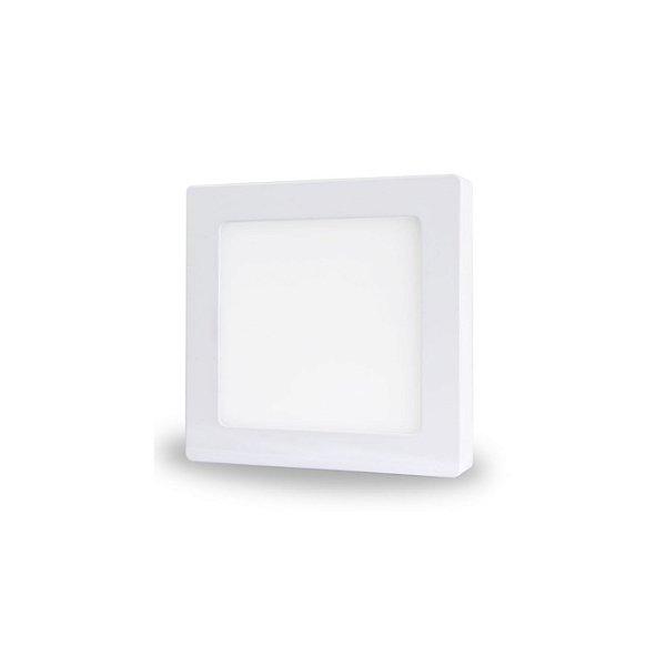 Painel LED de Sobrepor 9w | Bivolt | Quadrado | 14,5x14,5 cm