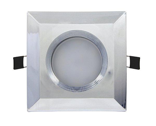 SPOT DE EMBUTIR 9W - Foco de Luz: 90º - Bivolt
