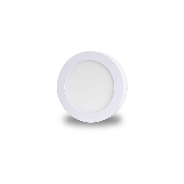 Painel LED de Sobrepor 9w | Bivolt | Redondo 14,5cm