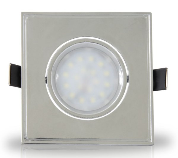 Spot Dicróica LED 4w | Embutir | Bivolt | Quadrado 90x90mm | LED CHIP PHILIPS