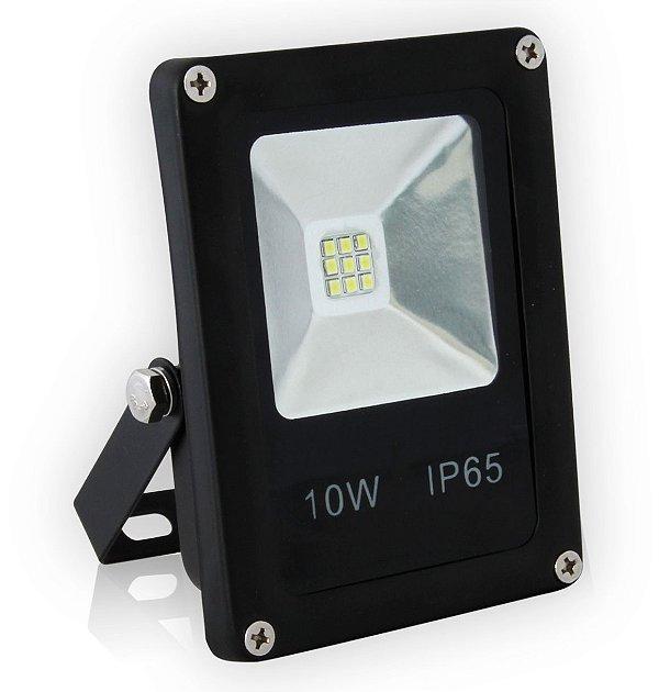 REFLETOR LED 10W  | 12V  | Resistente à Água IP65 | 1.200 Lúmens | Branco Frio 6.500k | LED PHILIPS