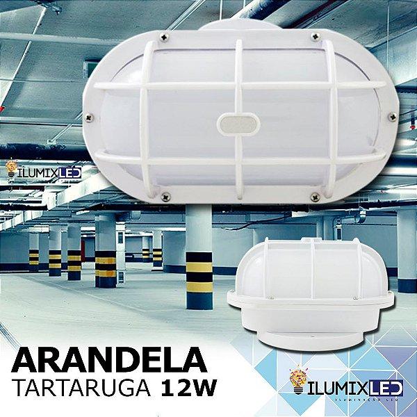 ARANDELA TARTARUGA LED 12w | Resistente à Água IP65 | LEDs PHILIPS