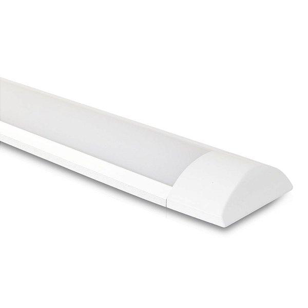 Luminária LED 20w | Sobrepor | Bivolt | 60cm | 2.400 Lúmens