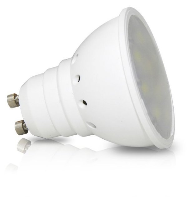 LÂMPADA DICRÓICA 4w - Base GU10 | Bivolt  |  Foco de luz 120º | Uso Interno