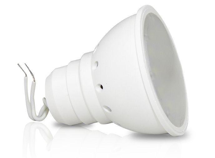 LÂMPADA DICRÓICA 4w - Rabicho | Bivolt  |  Foco de luz 120º | Uso interno