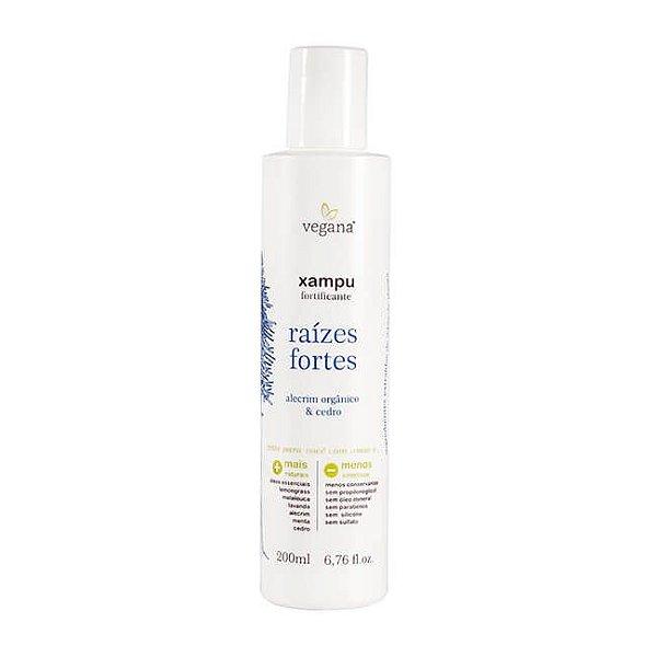 Vegana Shampoo Raízes Fortes Alecrim 200mL - WNF