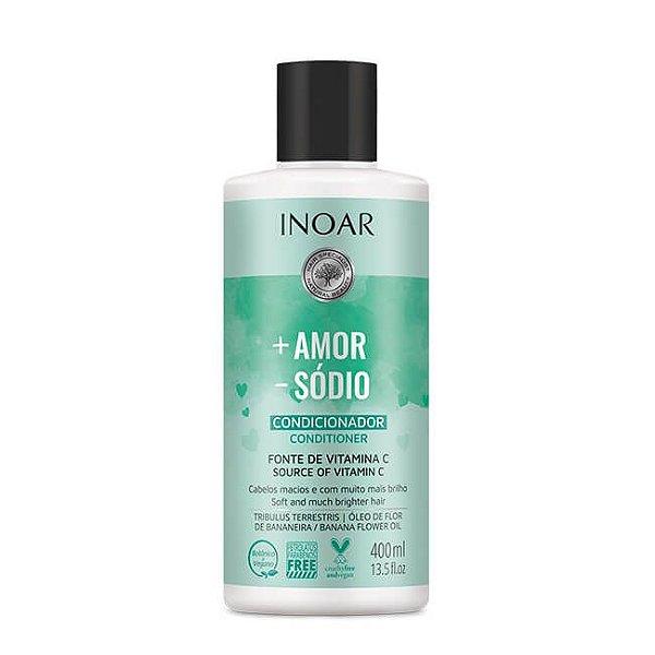 Condicionador + Amor - Sódio 400mL - Inoar