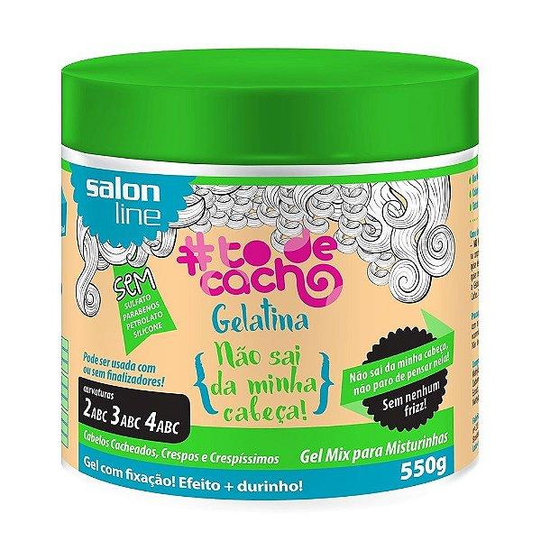 #To de Cacho Gelatina Não Sai da Minha Cabeça - Gel Mix para Misturinhas 550g