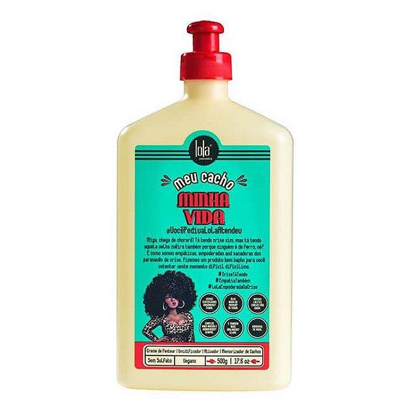 Meu Cacho Minha Vida - Creme de Pentear Memorizador de Cachos 500g - Lola Cosmetics