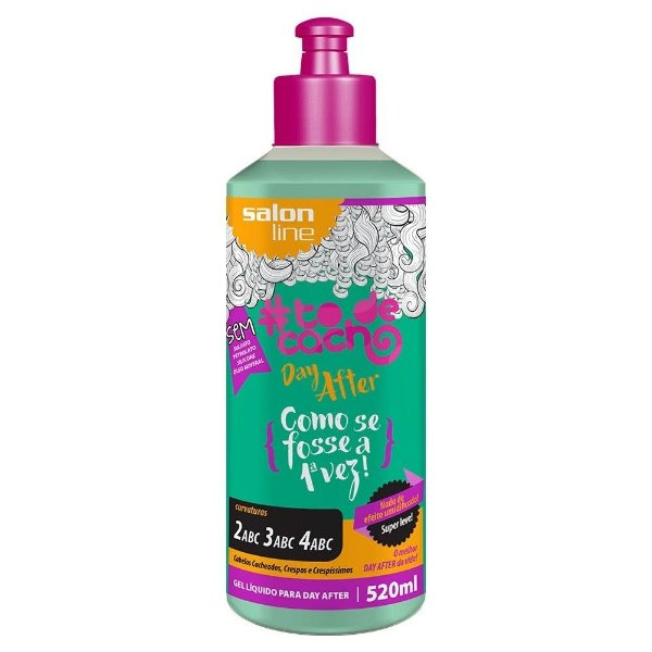 #To de Cacho Gel Líquido Para Day After- Como se Fosse a 1ª vez 520ml