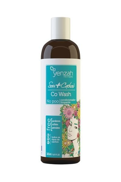 Yenzah Sou+Cachos - Co-Wash Condicionador Limpante - 365ml