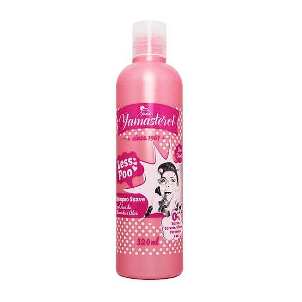 Shampoo Suave Less Poo 320ml - Yamá